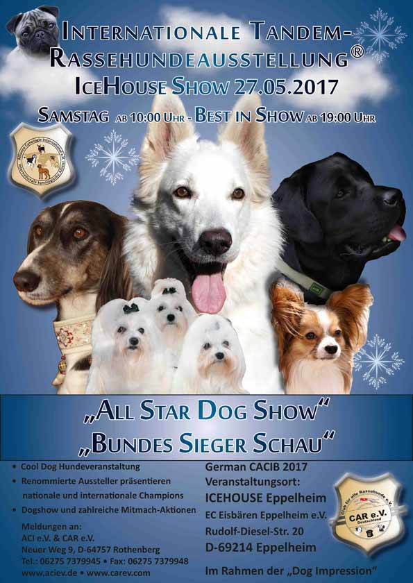 All Star Dog Show - Bundes Sieger Schau